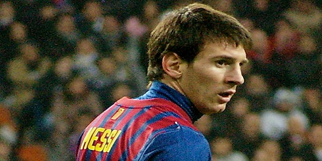 Top 10 atletas mais bem pagos do mundo - Lionel Messi