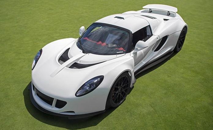 Top 10 carros mais rápidos do mundo em 2019