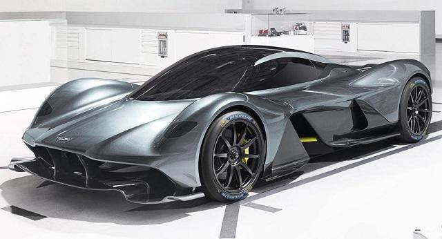 Top 10 carros mais caros do mundo - Aston Martin Valkyrie