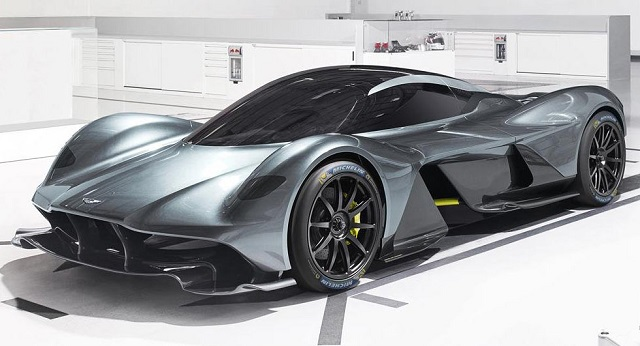 Top 10 carros mais caros do mundo - Aston Martin Valkyrie
