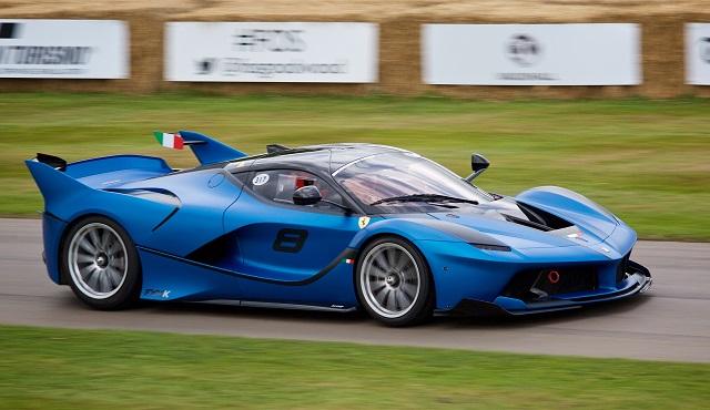 Top 10 carros mais caros do mundo - Ferrari LaFerrari FXX K