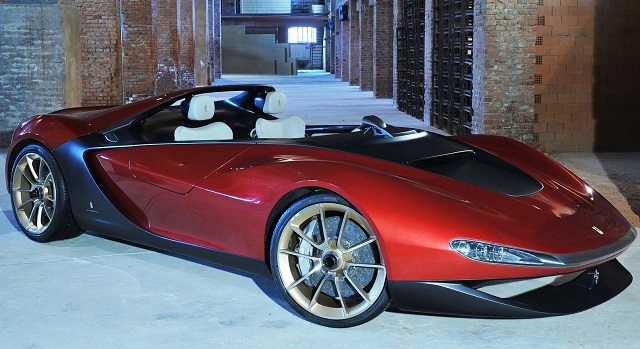 Top 10 carros mais caros do mundo - Ferrari Pininfarina Sergio