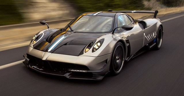 Top 10 carros mais caros do mundo - Pagani Huayra BC