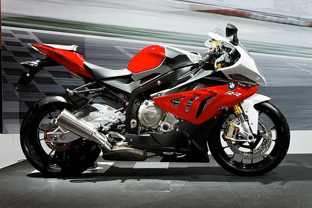 Top 10 motos mais rápidas do mundo - BMW S1000 RR