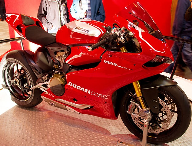 Top 10 motos mais rápidas do mundo - Ducati 1199 Panigale R