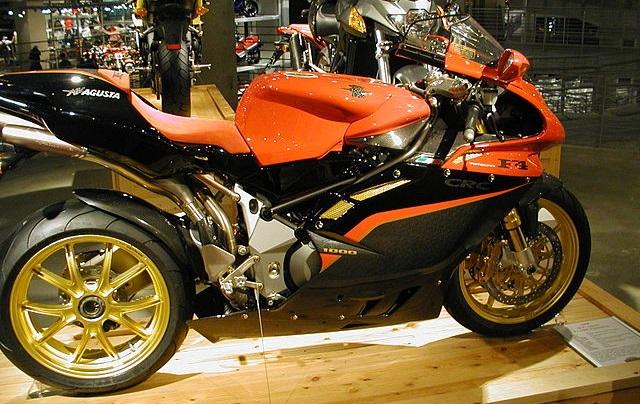 Top 10 motos mais rápidas do mundo - MV Augusta F$ 1000 Tamburini