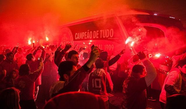 Top 10 clubes com mais títulos da Libertadores - Internacional