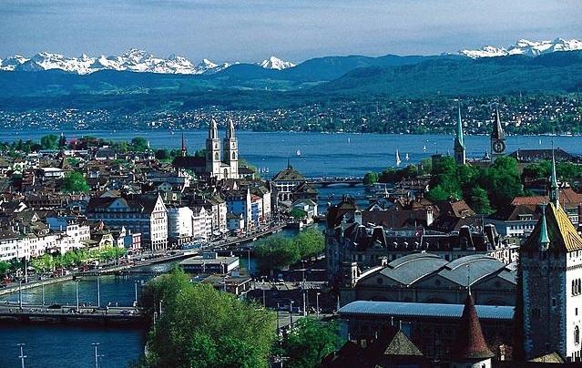 Top 10 países mais ricos do mundo - Suíça