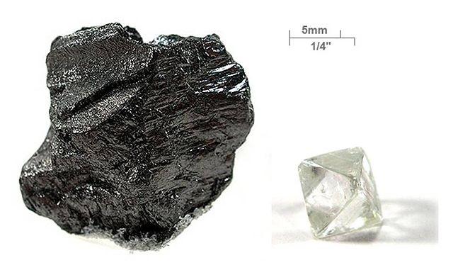 Top 10 elementos mais caros do mundo - Carbono