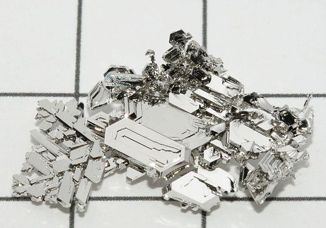 Top 10 elementos mais caros do mundo - Platina