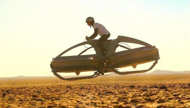 Top 10 veículos mais incríveis do mundo - Bicicleta Aérea Aero-X