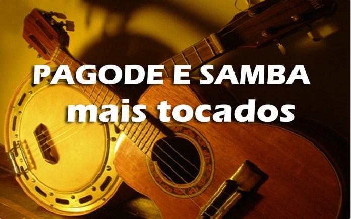 Top 10 Pagode/Samba mais tocadas em 2021 (Janeiro)