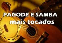 músicas de pagode e samba mais tocadas