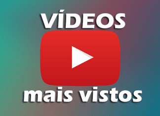 Top 10 vídeos mais vistos do youtube