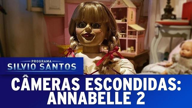 Top 10 pegadinhas mais assustadoras do Silvio Santos - Annabelle 2