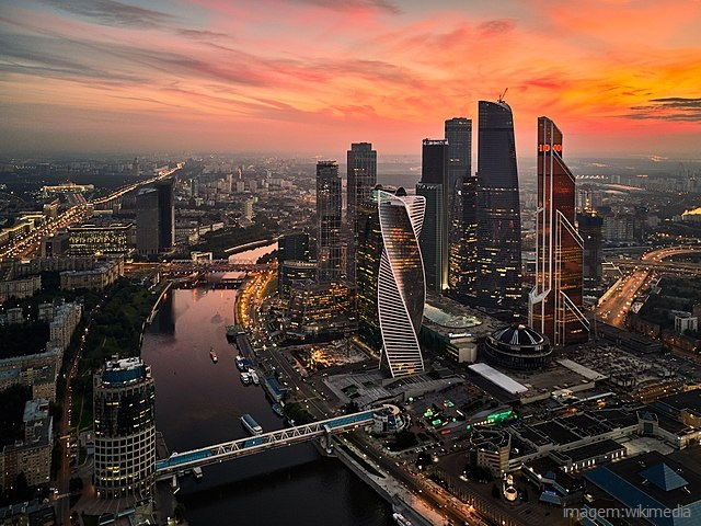 Top 10 maiores cidades do mundo - Moscou