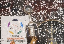 Top 10 clubes com mais títulos da Libertadores