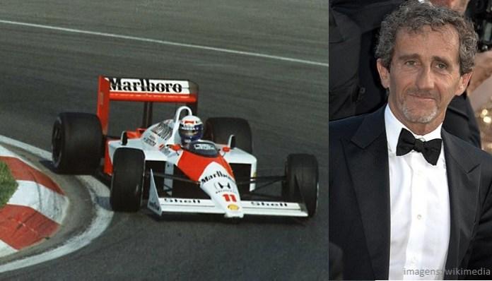 Top 10 maiores campeões da Fórmula 1 - Alain Prost