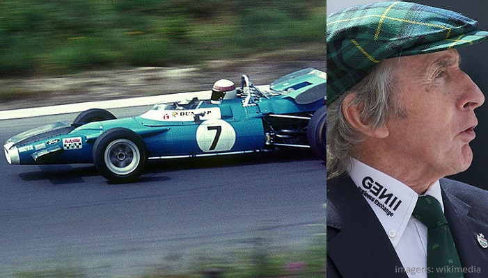 Top 10 maiores campeões da Fórmula 1 - Jackie Stewart