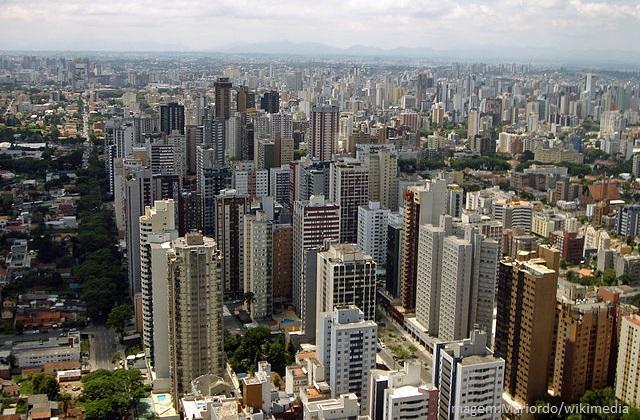 Top 10 maiores cidades do Brasil em população - Curitiba