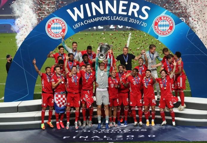 campeões da Champions League (Liga dos Campeões)