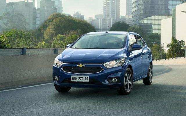 Top 10 carros mais vendidos no Brasil - Chevrolet Onix