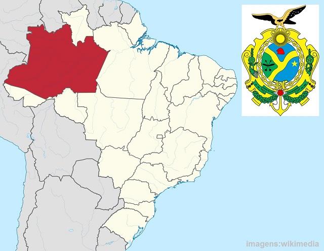 Qual é o maior estado do Brasil - Amazonas
