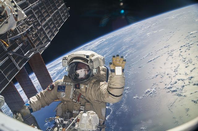 A roupa dos astronautas