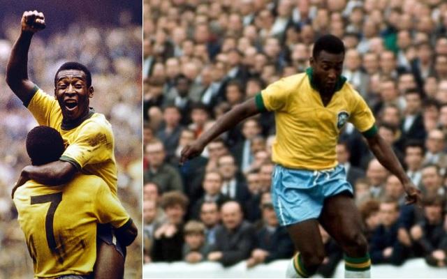 Maiores artilheiros da seleção brasileira - Pelé