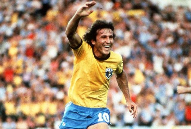 Maiores artilheiros da seleção brasileira - Zico