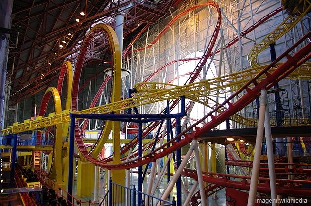 Maior parque de diversões indoor