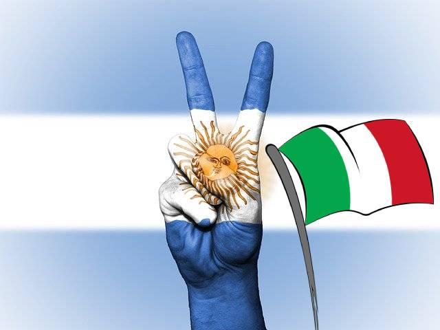 Grande ascendência italiana na Argentina