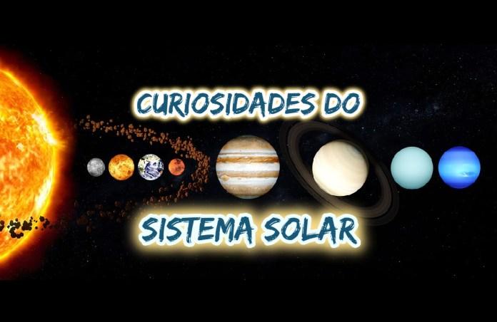 Curiosidades sobre o Sistema Solar