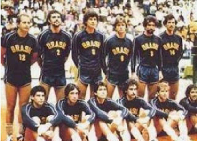 Primeira medalha olímpica da seleção brasileira de voleibol