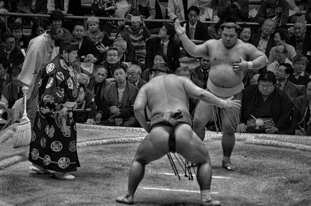 Sumô como principal esporte no Japão