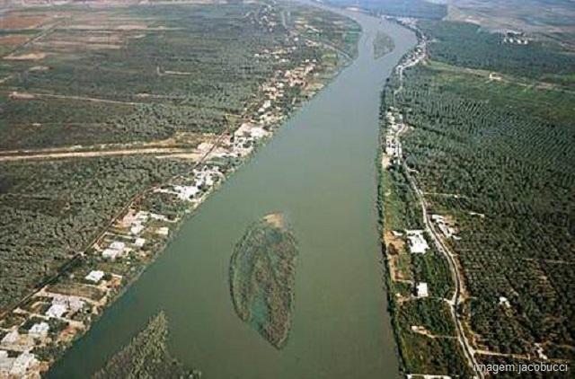 O rio Nilo é o maior rio do mundo