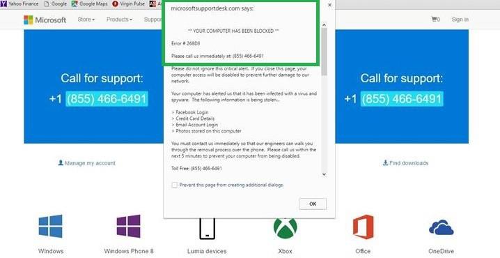 Ошибка 268d3 в Windows 10: что это такое и как ее удалить