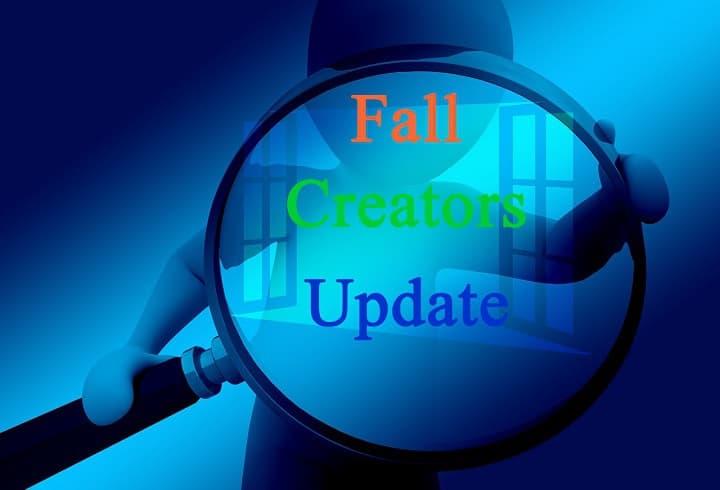 Исправлено: ПК зависает в загрузочном цикле при обновлении до Windows 10 Fall Creators Update.