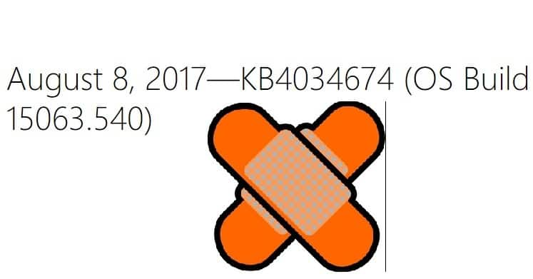 KB4034674 (OS Build 15063.540)
