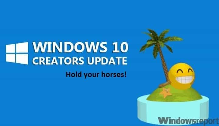 Как отложить обновление до Windows 10 Creators Update