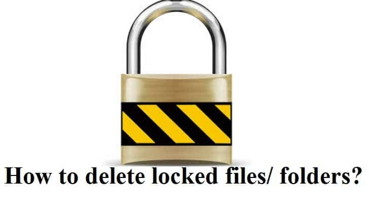 Как удалить заблокированные файлы или папки