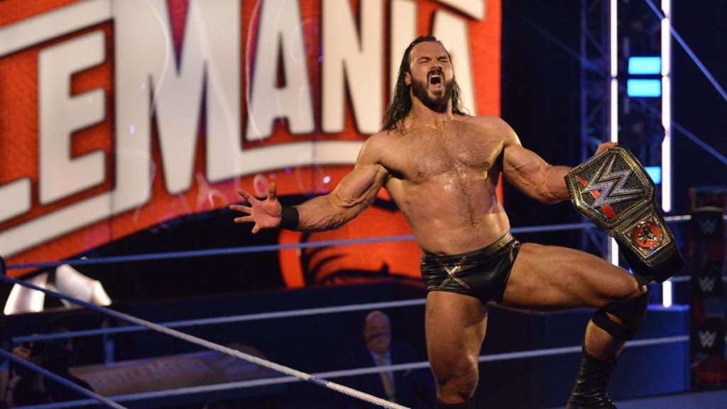 Drew McIntyre en WrestleMania 36