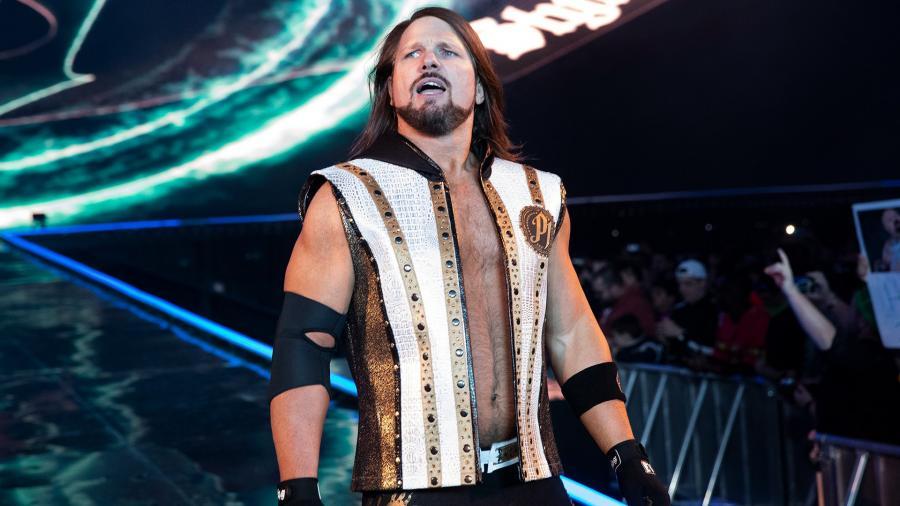 aj styles en WWE