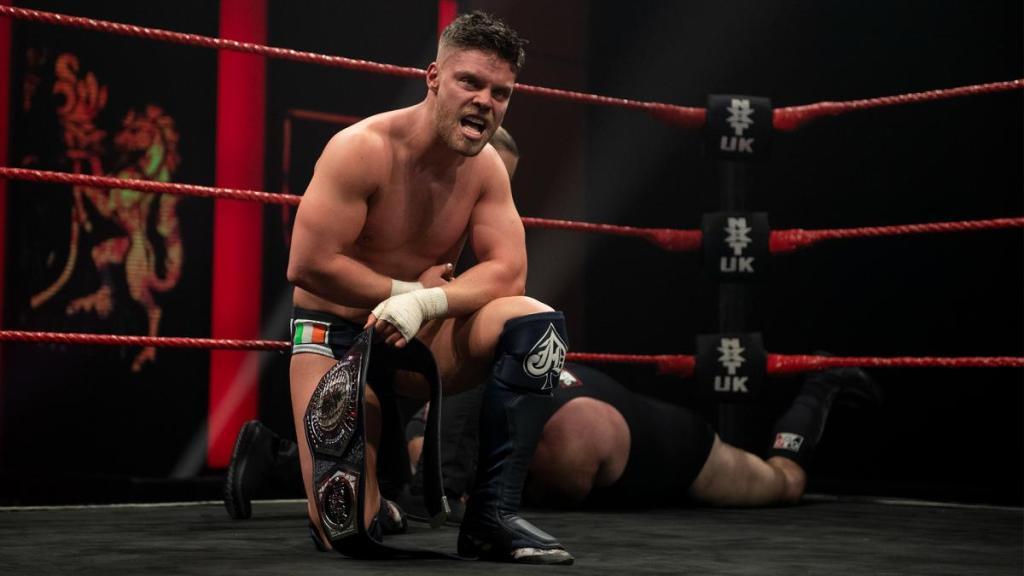Jordan Devlin en NXT UK