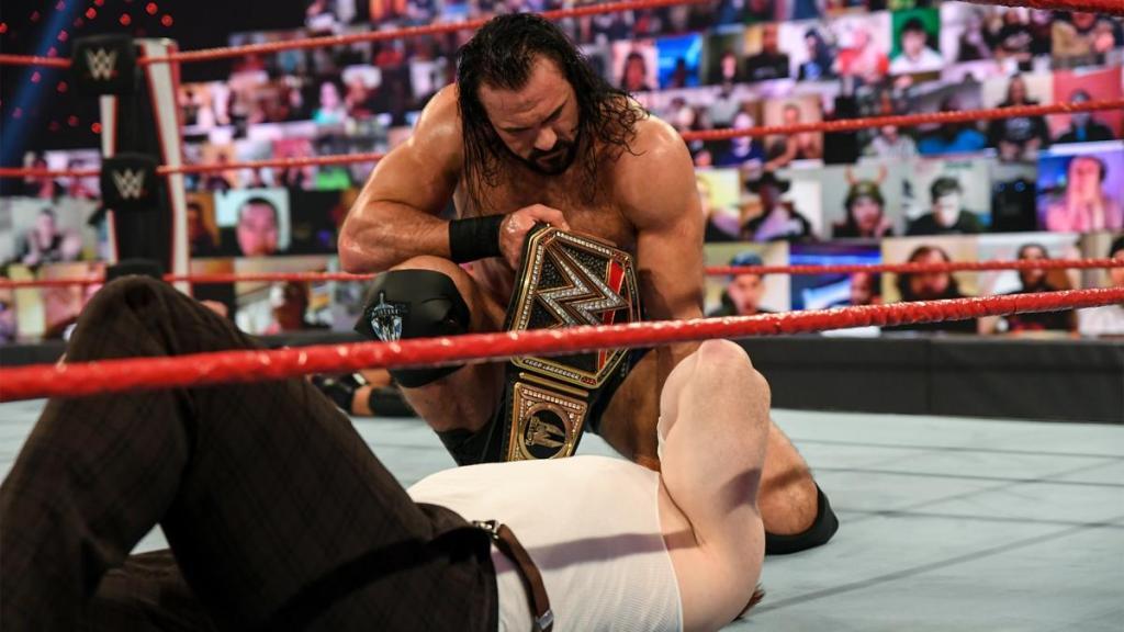Drew y Sheamus en Raw