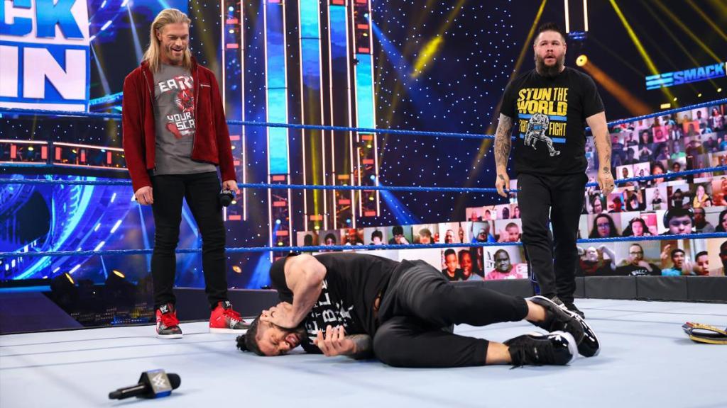 Kevin Owens tra atacar otra vez a Roman Reigns