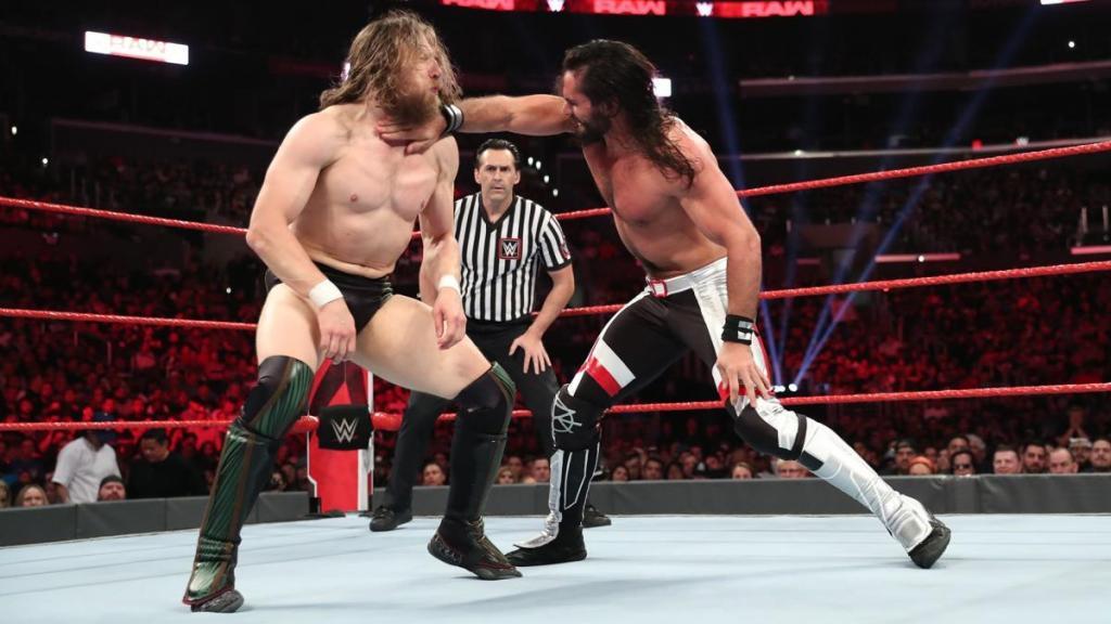 Rollins y Daniel Bryan en Raw