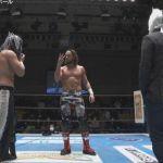 El Phantasmo, Bushi y El Desperado se disputan el IWGP Junior Heavyweight Championship