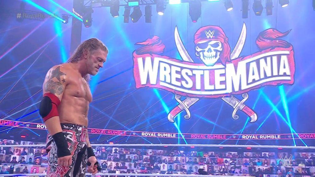 Edge tras ganar el combate
