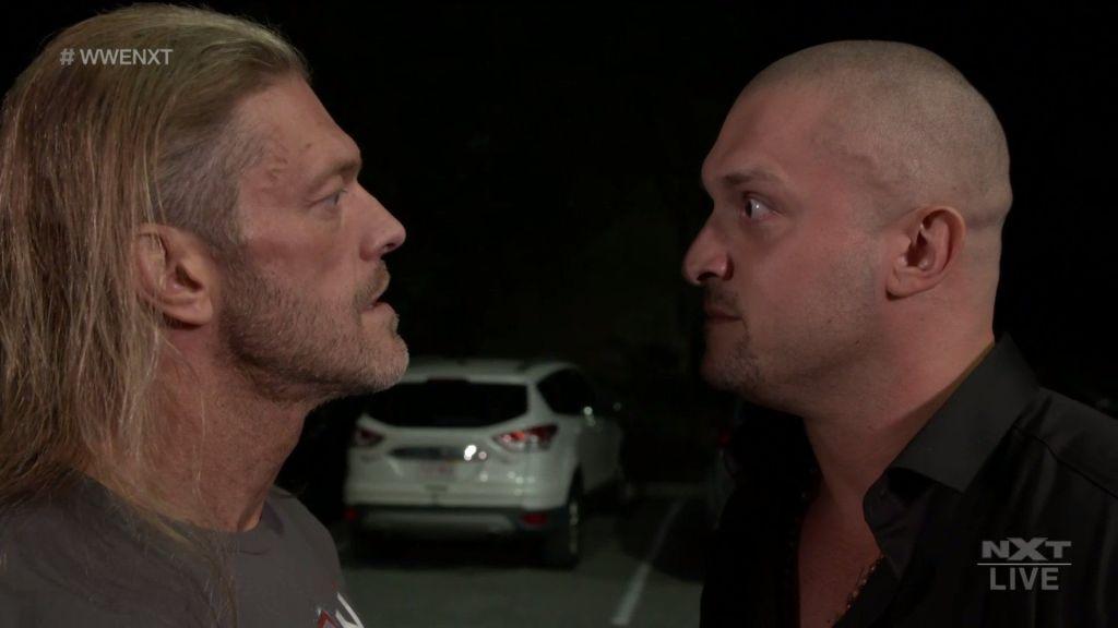 Karrion Kross y Edge en NXT